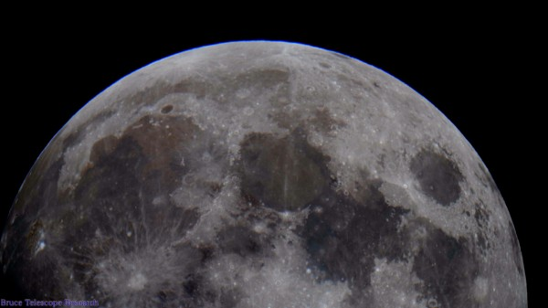 High resolution Image Of The Full Moon by Bruce Swartz