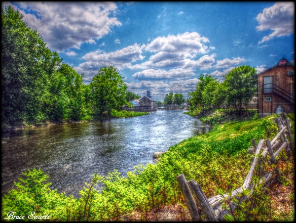 Waterside moments in HDR by Bruce Swartz
