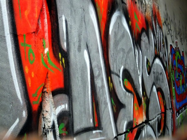 Graffiti & Cracks by Bruce Swartz