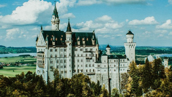 Neuschwanstein Castle by By the C Media