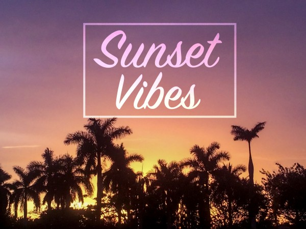 sunset vibes by By the C Media