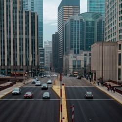 Somewhere in Chicago by C-Nick Photography