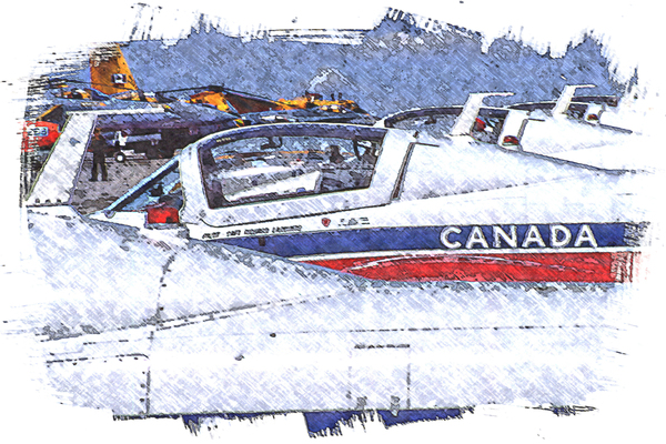 Canadian Snowbirds by COOL ART BY RICHARD
