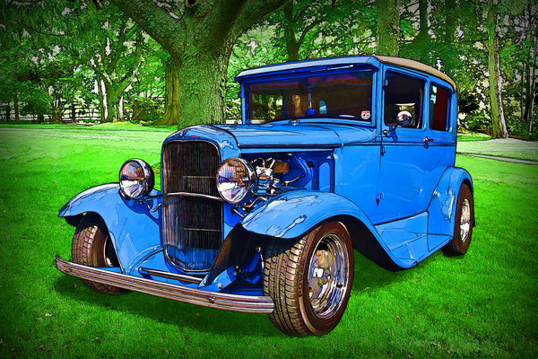 1930 Ford by COOL ART BY RICHARD
