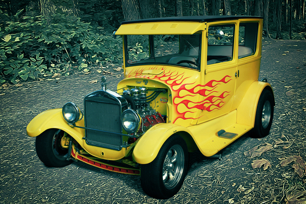 1927 Ford Model-T by COOL ART BY RICHARD
