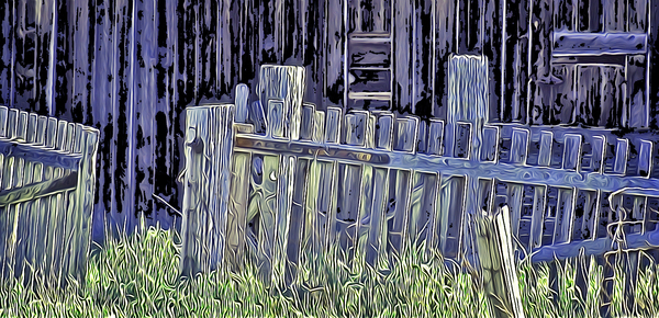 Forsaken Barnyard by COOL ART BY RICHARD
