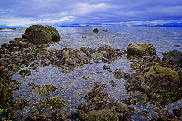 Tranquility at Low Tide by COOL ART BY RICHARD