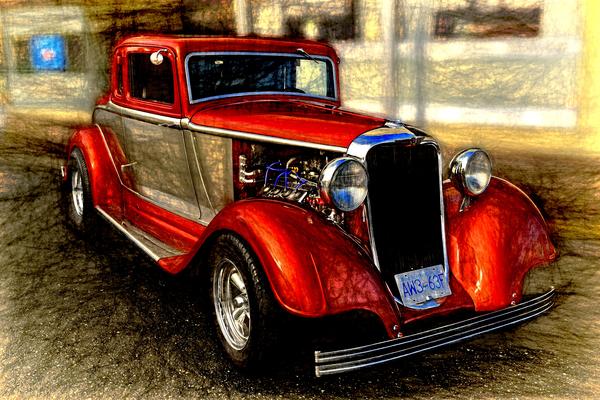 1933 Dodge Coupe Digital Download
