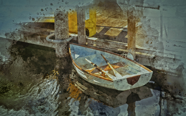 Rowboat by COOL ART BY RICHARD