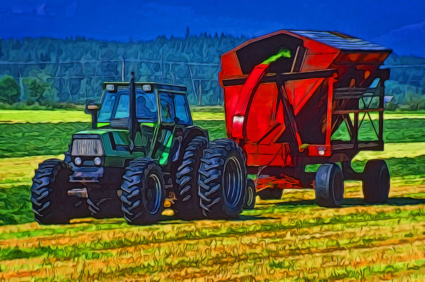 Making Hay by COOL ART BY RICHARD