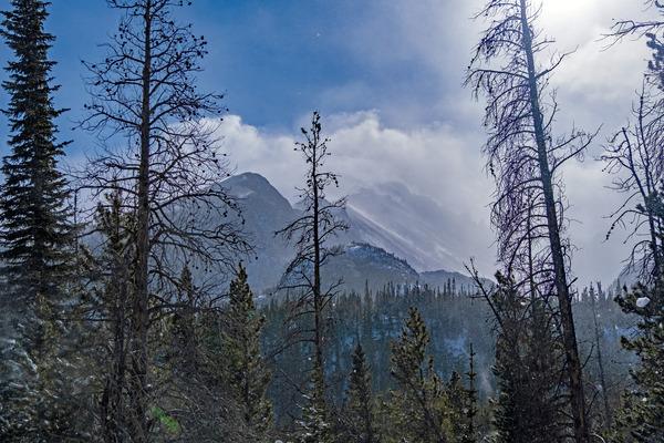 Cloud mountain by Caleb Nagel