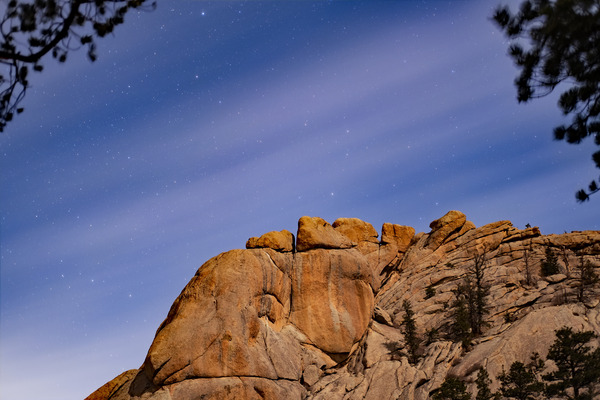 Starry mountain 2 by Caleb Nagel