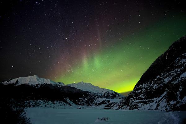 Glacier Aurora by Caleb Nagel