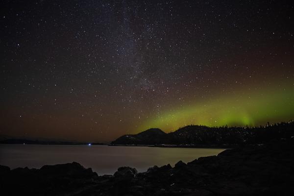 Aurora harbor by Caleb Nagel