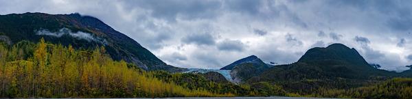 Autumn Glacier Panorama by Caleb Nagel