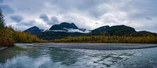 Autumn River by Caleb Nagel