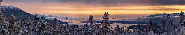 Sunset panorama 2 by Caleb Nagel