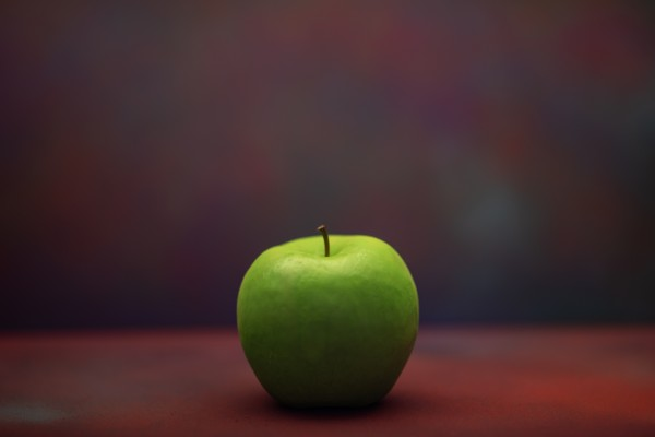 Green Apple by Cameron Grey