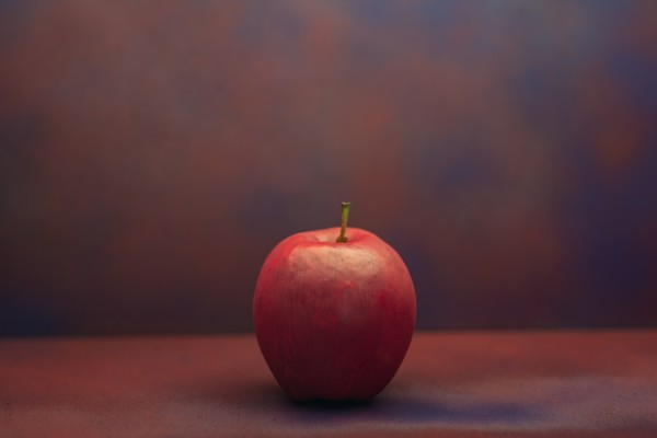 Red Apple by Cameron Grey