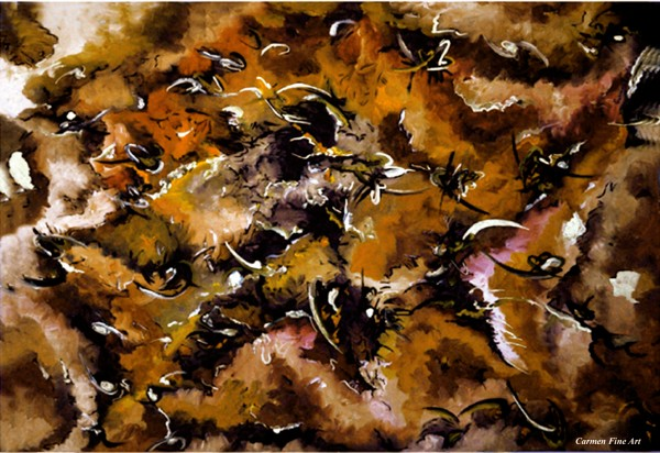 Autumnal Cut by Carmen Fine Art
