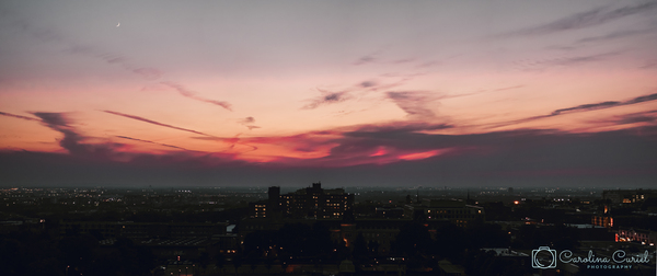 Sunset in Montreal by Caro Curiel Photography