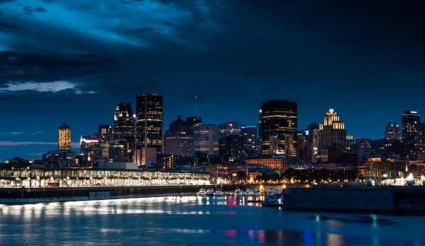 Montreal by Night - Montreal la Nuit by Carole Ledoux Photography