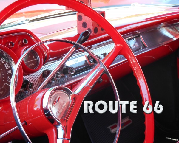 1957 Bel Air Interior - Route 66 Chrome by Castle Green Enterprises