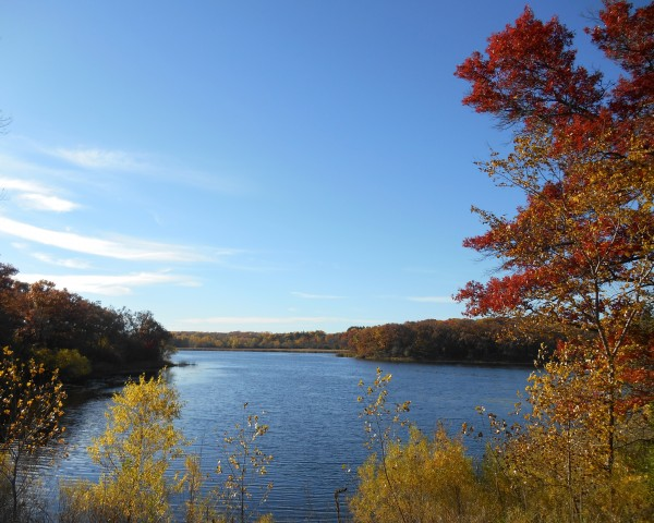 Autumn Lake by Castle Green Enterprises