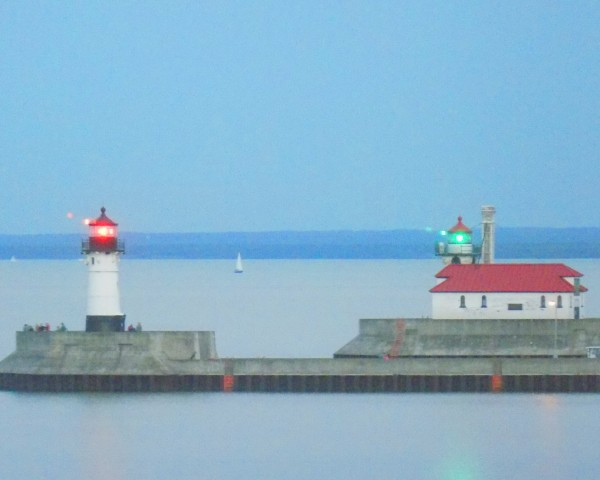 Duluth Ship Canal  by Castle Green Enterprises