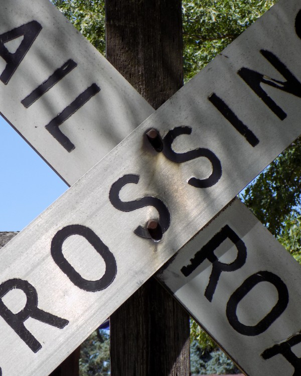 Railroad Crossing by Castle Green Enterprises