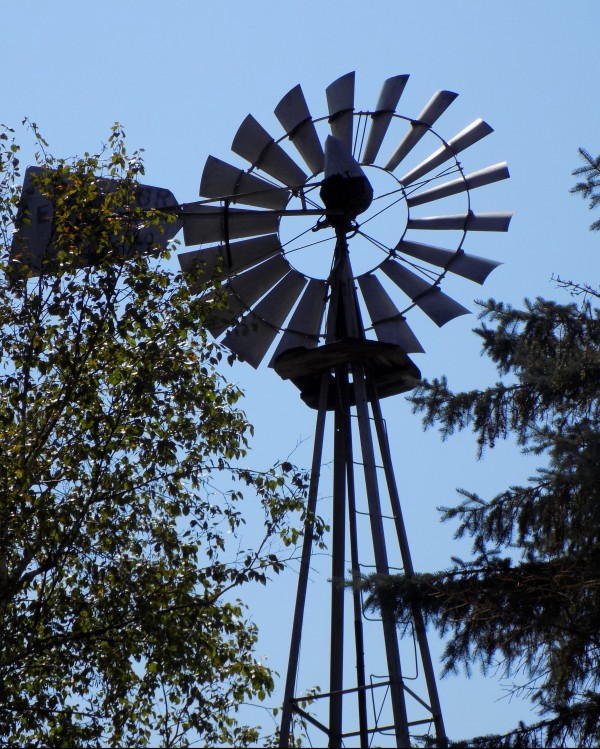 Summer Windmill by Castle Green Enterprises