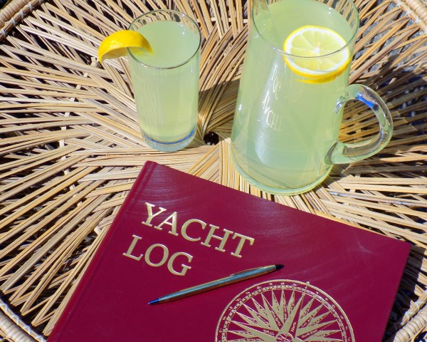 Yacht Log  by Castle Green Enterprises