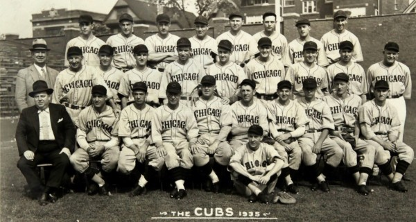 1935 Chicago Cubs Team Photo by Chad Dollick