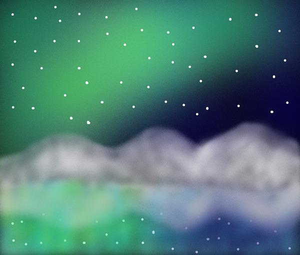 Northern Light 1 by Chanthiraa Chelvan