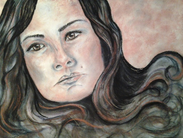 Self Portrait by Charity Golden