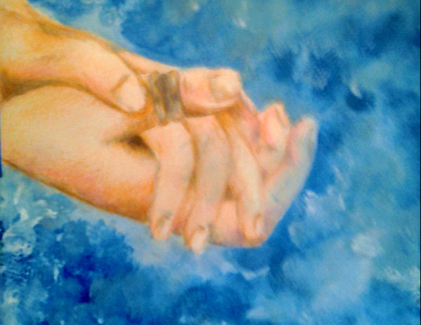 Hoping Hands by Charity Golden