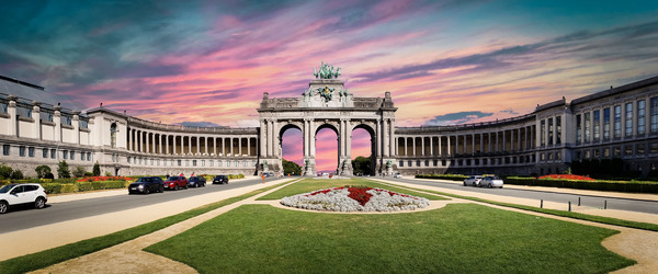 Cinquantenaire Arch by Chase Nevada Michaels