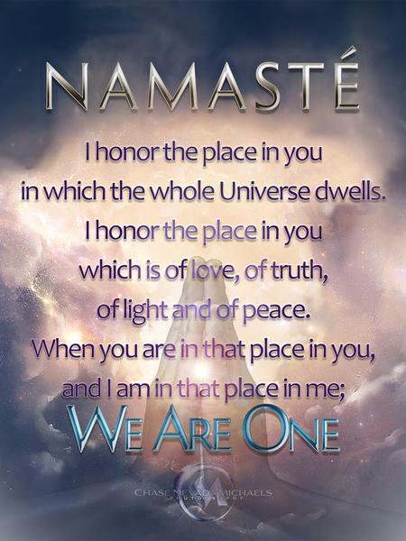 Namaste by Chase Nevada Michaels
