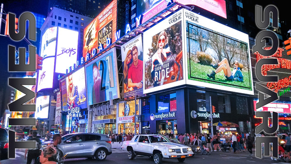 Times Square  by Chase Nevada Michaels