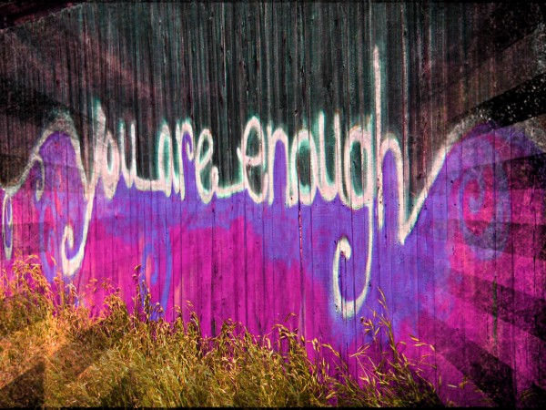 You are enough- okc Canvas Print