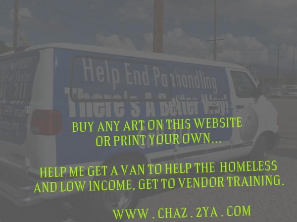 helping the homeless get to vendor training. OKC Canvas Print