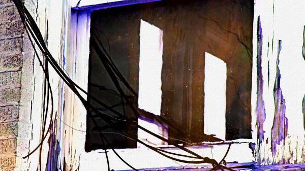 windowThroughWindow22 Canvas Print