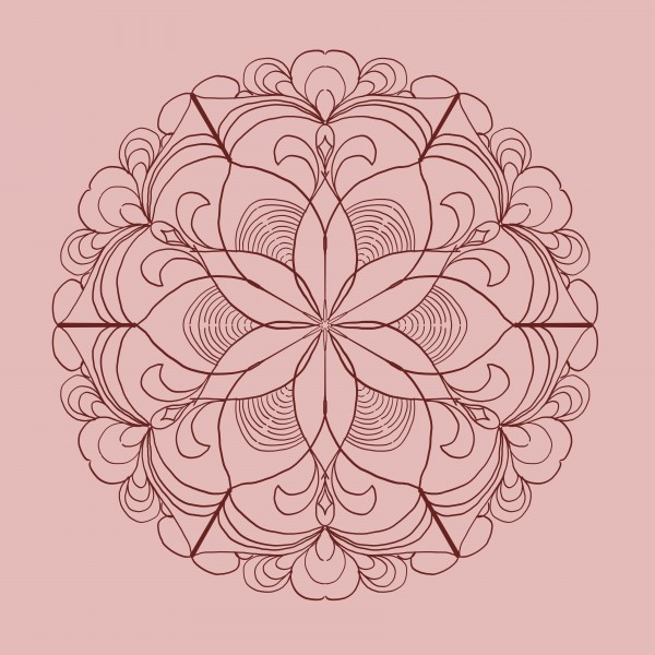 mandala with light colors by Chino20