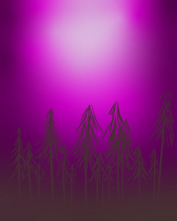 purple forest by Chino20