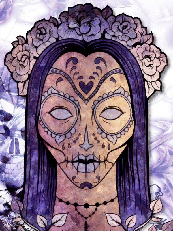 Day of the Dead 2017 by ChrisHarrisArt
