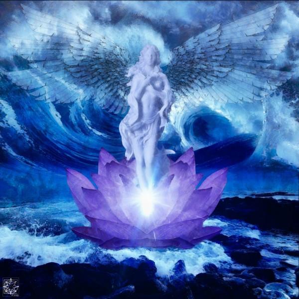 Goddess Rising by ChrisHarrisArt