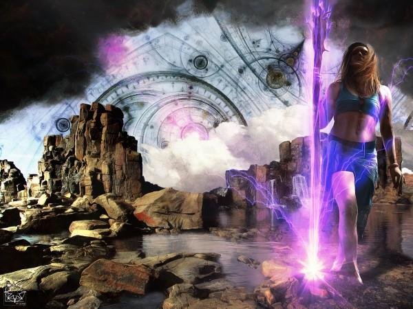 Storm Dancer by ChrisHarrisArt