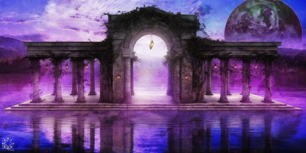 The Temple Before Time by ChrisHarrisArt