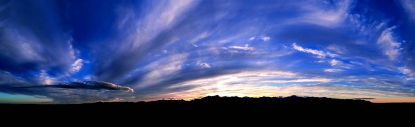 Western Sky Pano by Chris Kadin