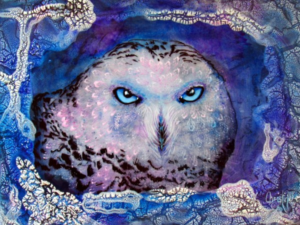 Ole Blue Eyes by Christine Cholowsky